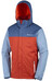 Columbia Everett Mountain Jacket Men Rust Red/Night Tide